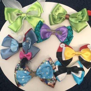 Disney hair bows!